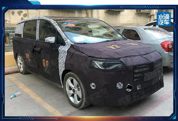 荣威MPV路试谍照曝光 又一款自主品牌MPV车型即将来袭