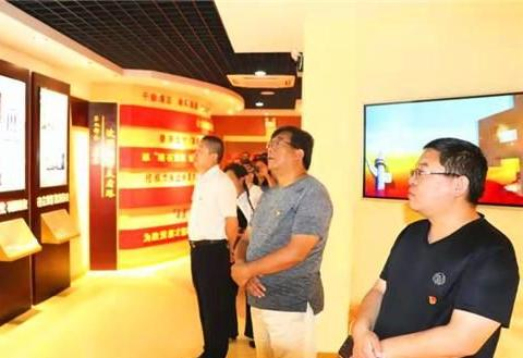 郸城县市场监管局到廉政教育基地参观学习