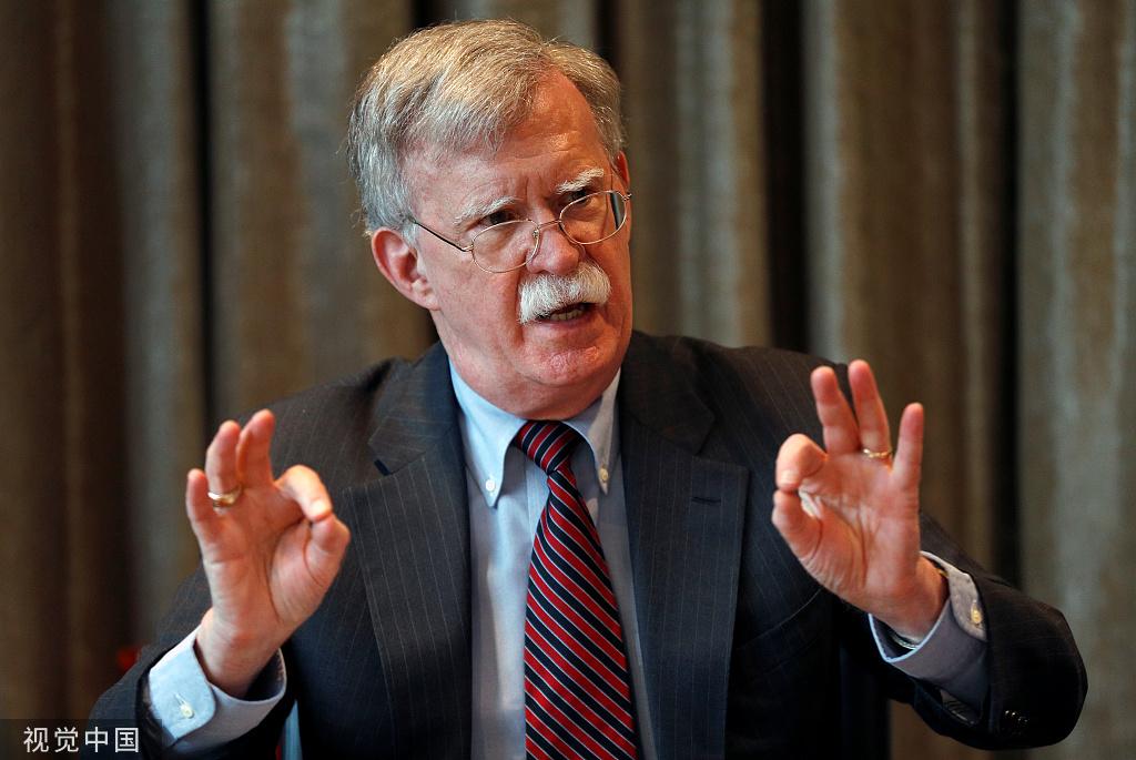 """博尔顿:美国支持无协议""""脱欧"""",将优先与英签自贸协定"""
