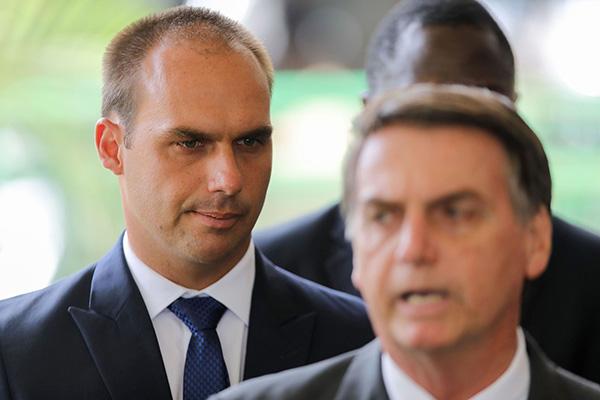 巴西总统欲任命儿子当驻美大使 检察官办公室阻击|爱德华多