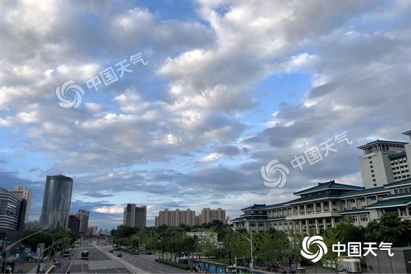 北京今天大风持续东部有小雨 明起晴晒上线|北京