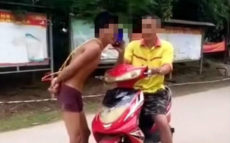 海南一嫌疑人脱逃后抢劫他人盗摩托车 警方正搜捕|嫌疑人|摩托车