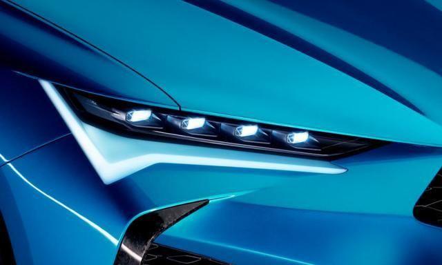 帅气啊!讴歌Type S概念车亮相蒙特利汽车周,外观十分惊艳