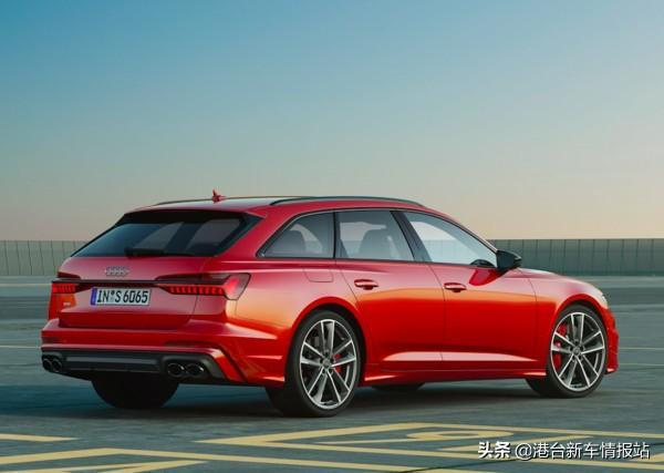 奥迪公布「性能旅行车」RS6 Avant首张预告照