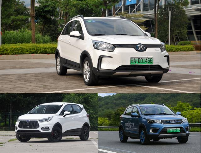 10多万纯电SUV,这三款车都很不错,哪款才是出行首选