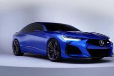视频:汽车视频:讴歌TLX TYPE S概念车发布