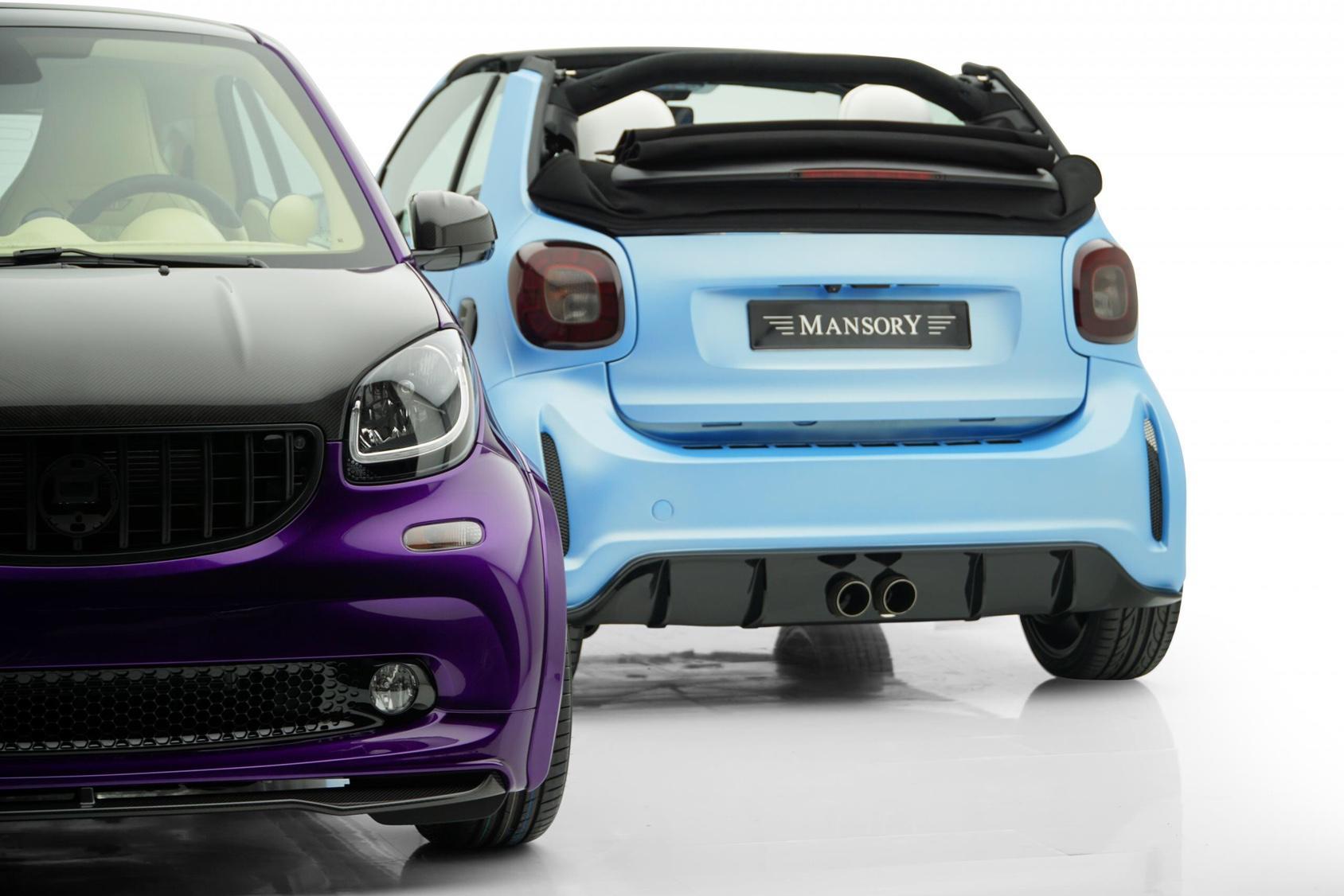 微型车都是便宜的叫花车?Mansory可要来打脸了!