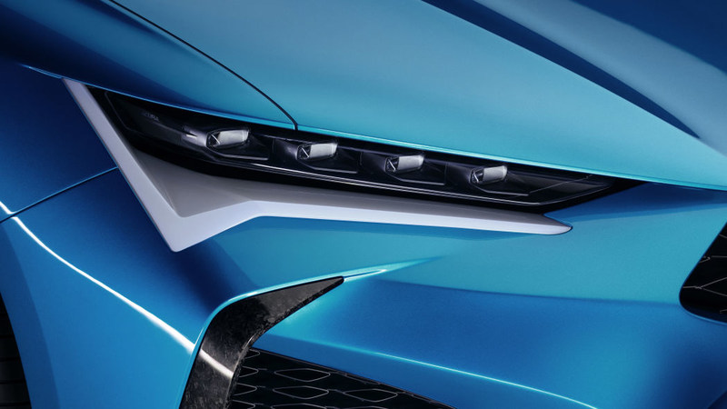 讴歌Type S概念车官图发布,下一代TLX长这样?