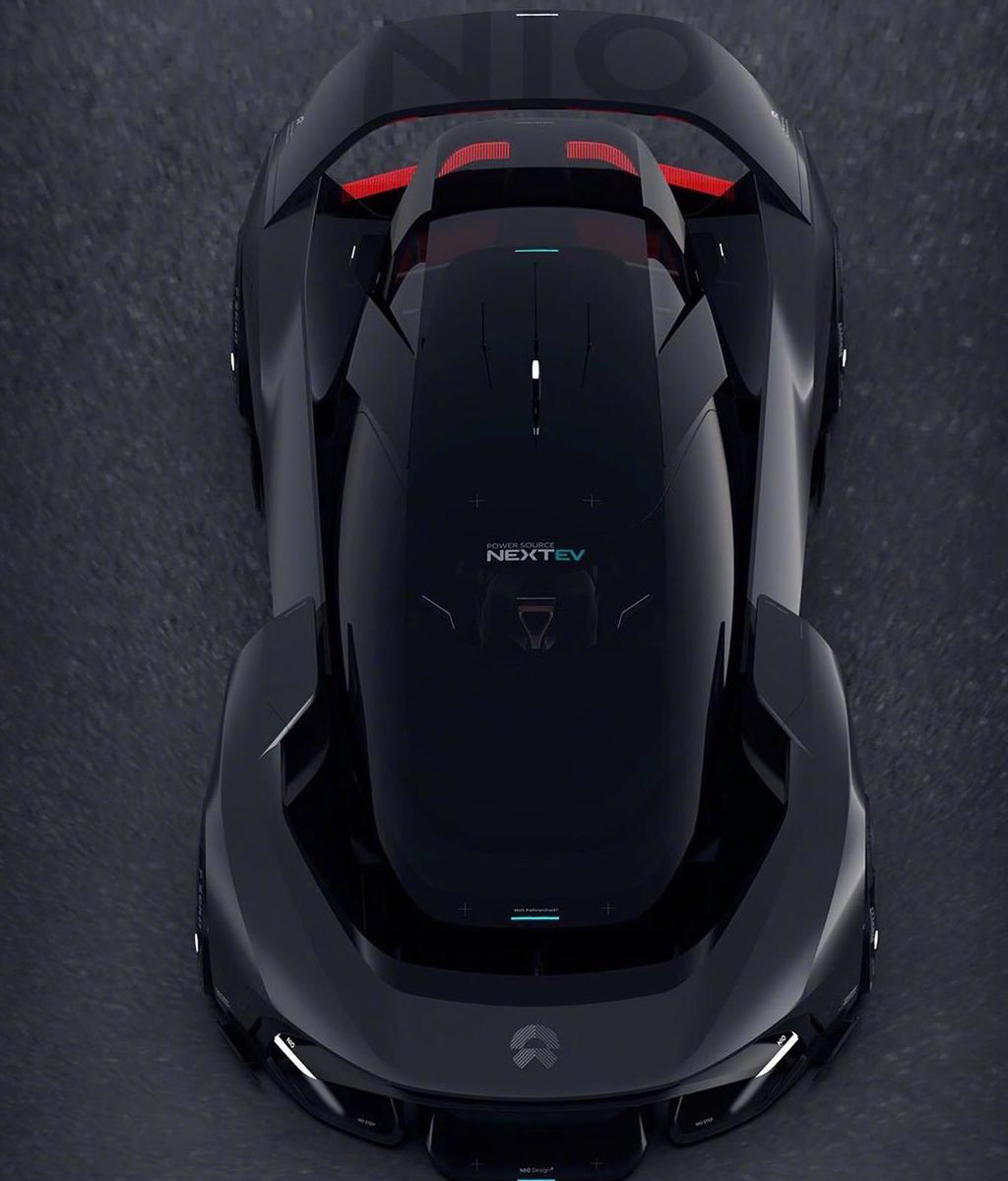 比EP9造型更加战斗,蔚来NIO Vision GT概念车假想图发布