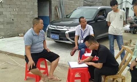 平桥区邢集镇开展畜禽养殖污染防治联合执法行动
