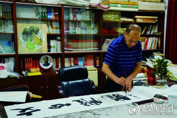 湖南省书法家协会会员刘放灿书法作品展示