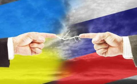 乌克兰与俄罗斯 (图源:环球时报)