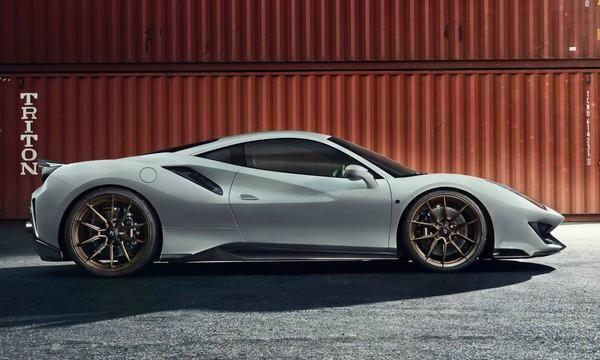 最强V8也要改 Novitec改装法拉利488 Pista 马力直达802匹