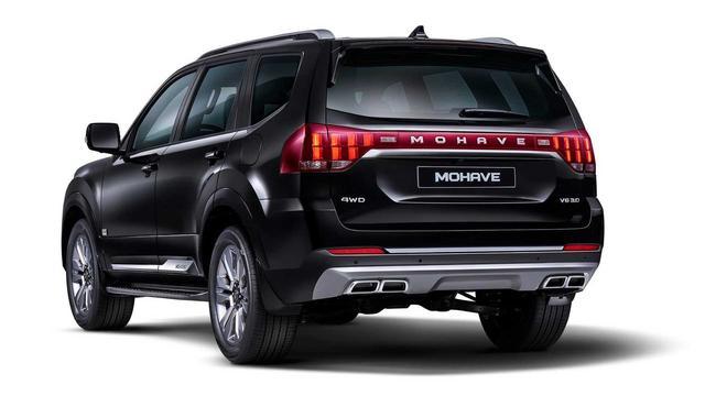 基本延续概念车设计 2020款起亚Mohave官图发布