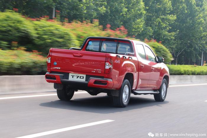 上汽MAXUS T70首试:首款国6B柴油皮卡,率先抢滩登陆!