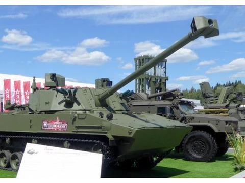 """俄罗斯新一代自行火炮代表:2S42""""莲花""""自行迫击炮"""
