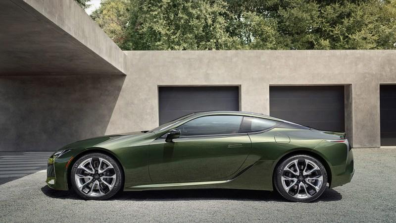 雷克萨斯LC500灵感版官图发布,配海苔绿车漆
