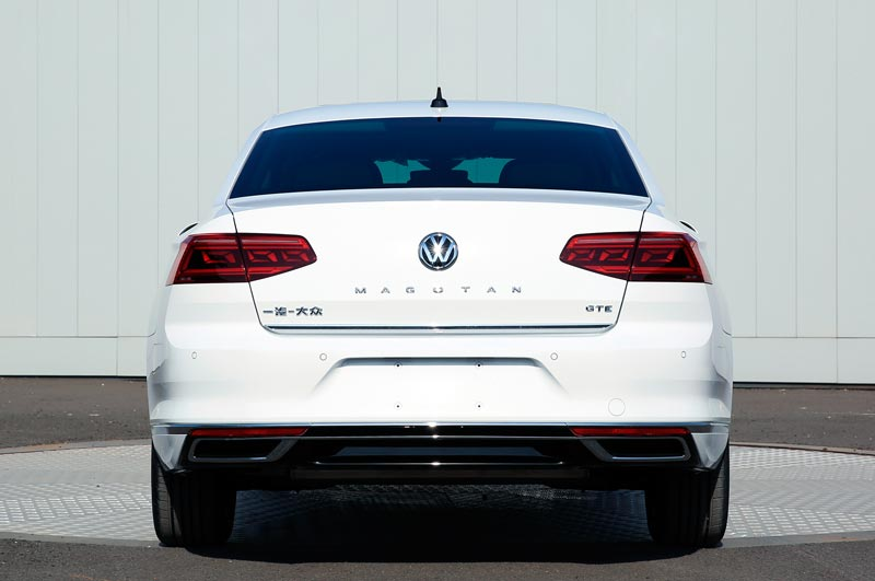 百公里油耗1.8L/比燃油版更动感 一汽-大众迈腾GTE申报图曝光