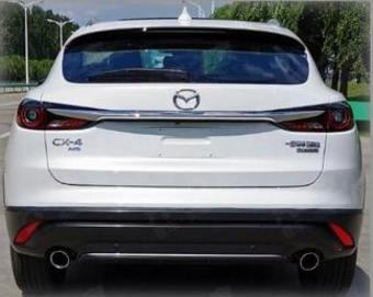外观更加犀利 新款马自达CX-4申报图曝光