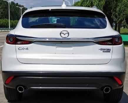 设计语言更犀利 新款马自达CX-4申报图曝光