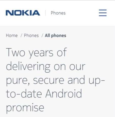 HMD为诺基亚3/5/6/8延长一年的谷歌安全更新
