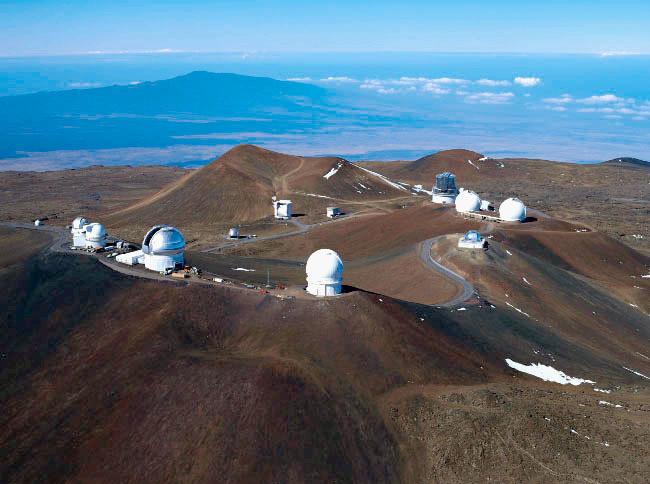 莫納克亞山天文台群 IC 圖
