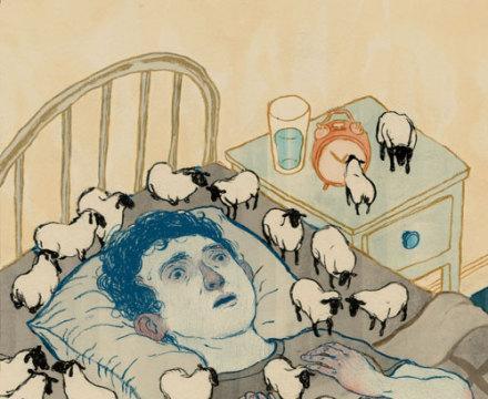 失眠症使我们无法入睡,