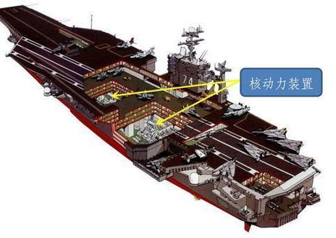 福特航母核反应堆是巅峰之作,性能提高3倍、源自弗吉尼亚核潜艇
