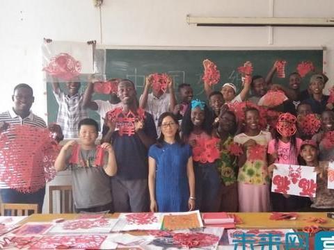 布隆迪大学孔子学院大中学生夏令营团到渤海大学参观学习