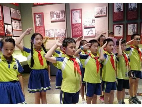 合肥市新安江路小学:缅怀革命先烈,争做新时代好队员