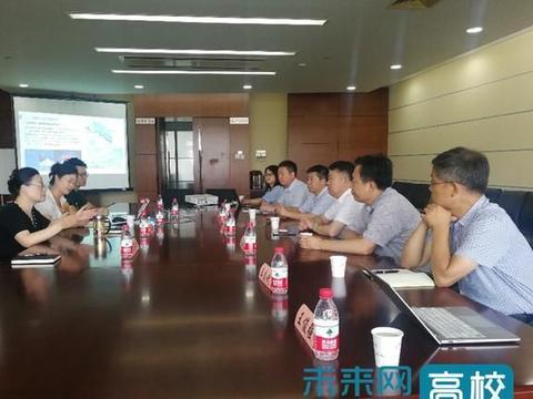 中北大学校长赴南通中央创新区开展产学研合作交流