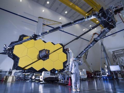 NASA完成詹姆斯·韦伯太空望远镜次镜支撑系统部件测试