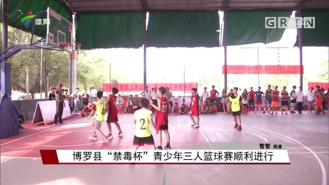 """博罗县""""禁毒杯""""青少年三人篮球赛顺利进行"""
