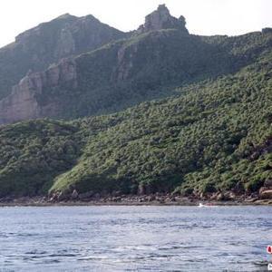 中国海警1302舰艇编队在中国钓鱼岛领海内巡航