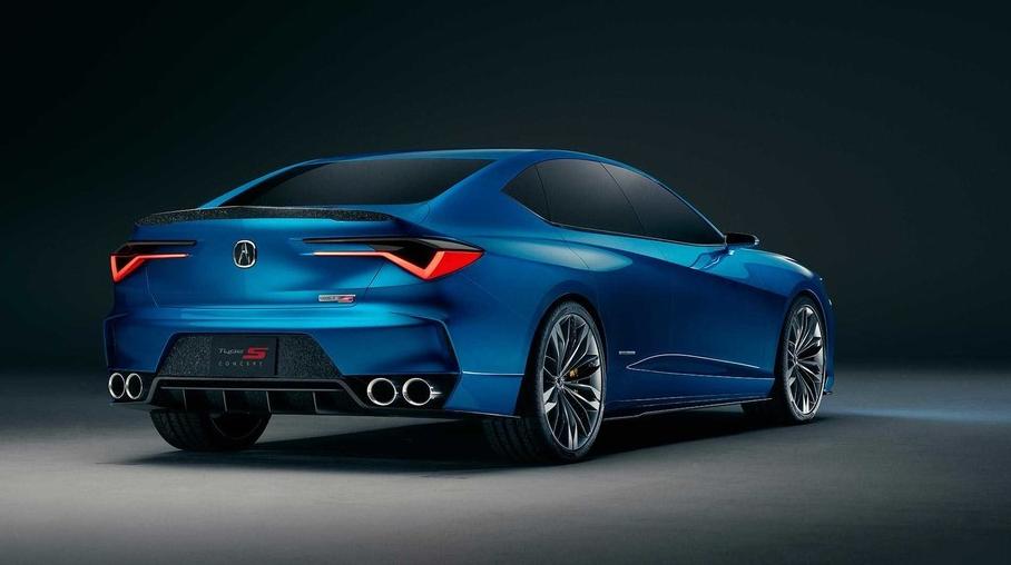 预示新一代TLX设计/性能车系回归 讴歌Type S概念车官图发布