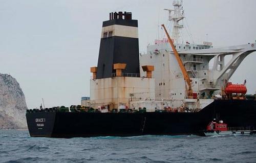 直布罗陀释放伊朗油轮 美国司法部最后一刻出手拦下
