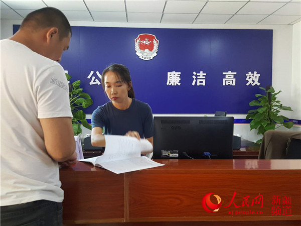 乌鲁木齐市:安宁渠镇公共法律服务站为社会稳定助力