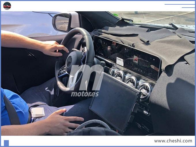 奔驰新GLA性能版谍照,四驱+液晶大屏,奥迪Q3直呼压力大