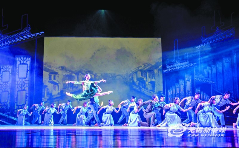 融合本土文化及异国风情 中加原创舞剧在无锡首演