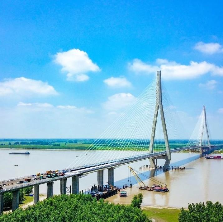 """通车前最后一次""""体检""""!石首长江大桥即将进行荷载试验"""