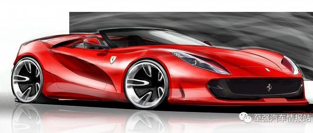 法拉利 812 Aperta 如箭在弦!跃马下月发布两款新车