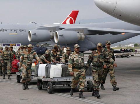 一支精锐部队即将出发,印度再获最强外援,巴铁:请求大国介入