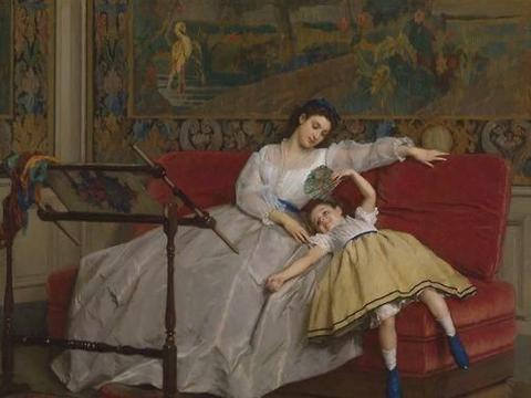美术欣赏:母亲的每一个瞬间 令人感动 爱需要行动