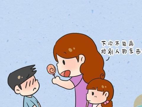 娃的棒棒糖被抢走,妈妈的做法会影响孩子一生的性格
