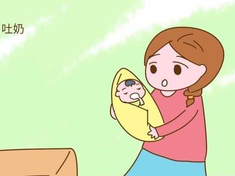 婴儿常吐奶,新妈妈很焦虑,爸爸却责怪她不会带孩子