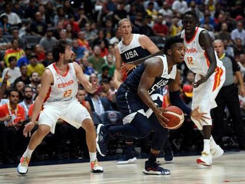 90-81!轻松击败死敌西班牙,美国男篮的霸主地位不可动摇