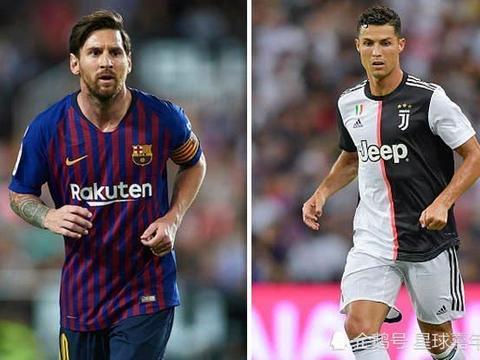 世界足坛身价榜:梅西仅第4 C罗比第3名便宜近1亿欧元