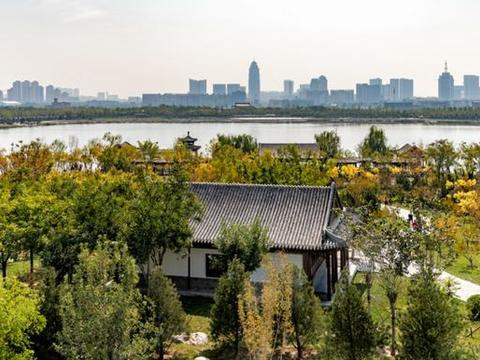 走起!今年五一小长假,天津最大的市内公园水西公园全面开园