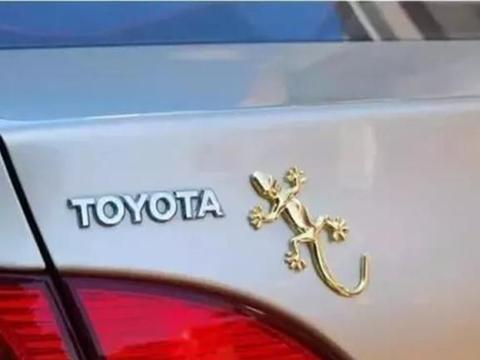 """车尾贴""""壁虎""""到底有啥用?老司机:知道本命年为啥系红腰带吗"""