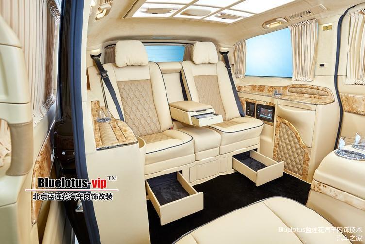 奔驰V260改装案例图片/北京蓝莲花工作室推出